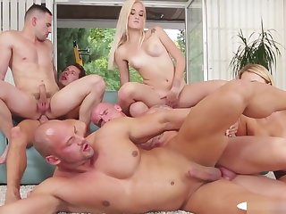Cocksucking Studs Bonking Pussies With an increment of Asses